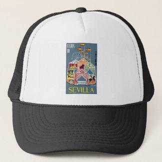 Spain 1960 Seville Festival Poster Trucker Hat