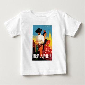 Spain 1961 Seville April Fair Poster Baby T-Shirt