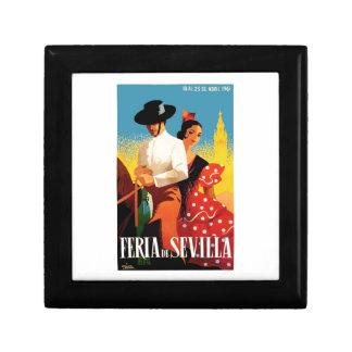 Spain 1961 Seville April Fair Poster Gift Box