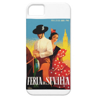 Spain 1961 Seville April Fair Poster iPhone 5 Cover