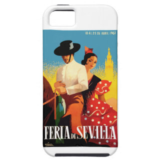 Spain 1961 Seville April Fair Poster iPhone 5 Covers