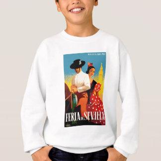 Spain 1961 Seville April Fair Poster Sweatshirt