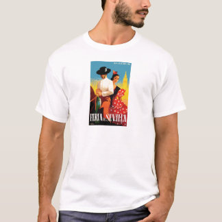 Spain 1961 Seville April Fair Poster T-Shirt