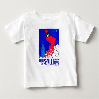 Spain 1964 Seville April Fair Poster Baby T-Shirt