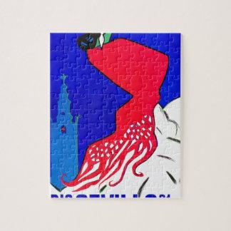 Spain 1964 Seville April Fair Poster Jigsaw Puzzle