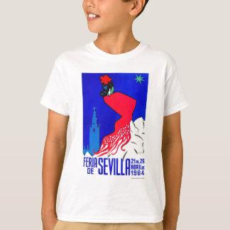 Spain 1964 Seville April Fair Poster T-Shirt