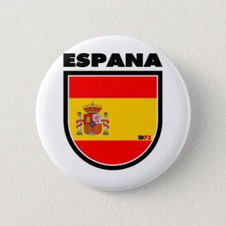 Spain 6 Cm Round Badge