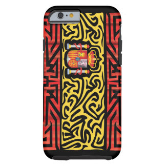 Spain Abstract Tough iPhone 6 Case
