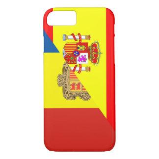 spain andorra half flag country symbol iPhone 8/7 case