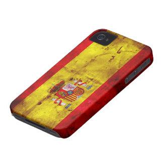Spain; bandera de España Case-Mate iPhone 4 Case