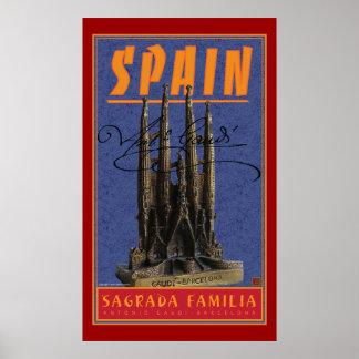 Spain-Barcelona-Print