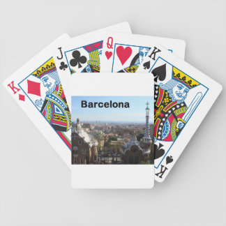Spain Barcelona View (St.K) Bicycle Playing Cards