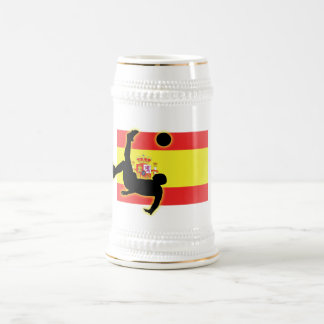 Spain Bicycle Kick Beer Stein