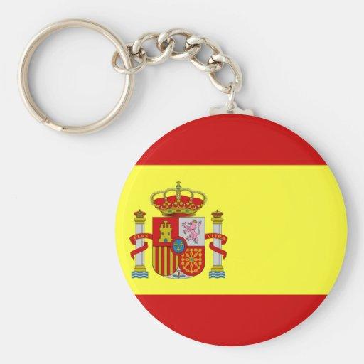 SPAIN Button keychain