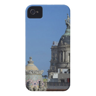 Spain, Catalonia, Barcelona. Barcelona roof top 2 iPhone 4 Cover