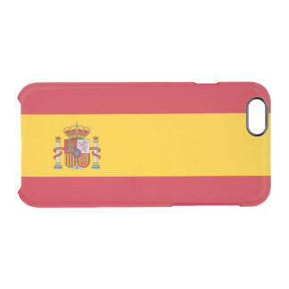 Spain Clear iPhone Case