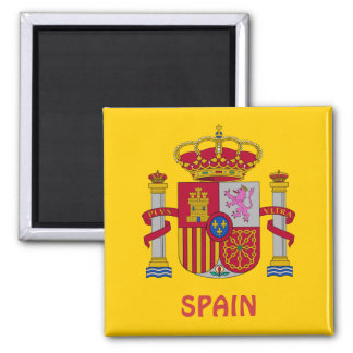 SPAIN* Coat of Arms Magnet
