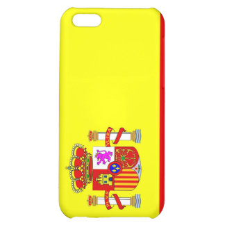 spain country flag case case for iPhone 5C