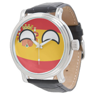 Spain Countryball Wristwatch