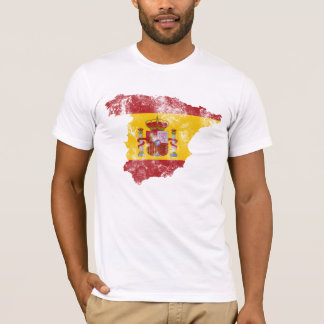 Spain Distressed Flag T-Shirt