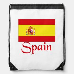 Spain Drawstring Bag