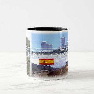 Spain - Espana - Canary Islands - Tenerife - Two-Tone Coffee Mug