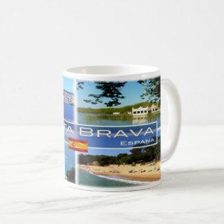 Spain - Espana - Costa Brava - Coffee Mug