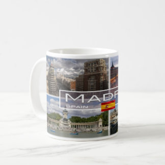 Spain - Espana - Madrid - Coffee Mug