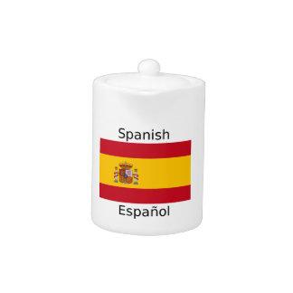 Spain Flag And Spanish Language Design
