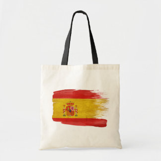 Spain Flag Canvas Bags