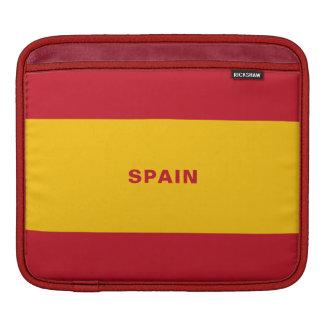 Spain Flag iPad Sleeves