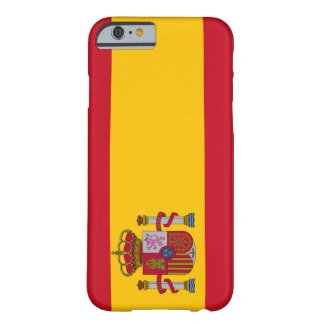 Spain Flag iPhone 6 case Barely There iPhone 6 Case