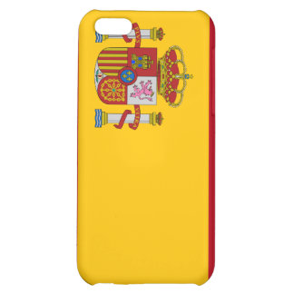Spain Flag Cover For iPhone 5C