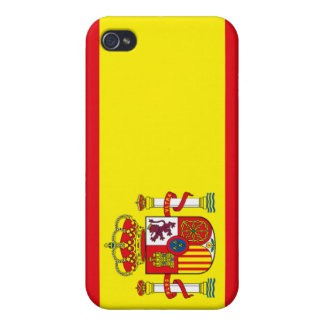 Spain Flag iPhone 4 Cases