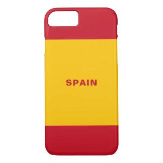 Spain Flag iPhone Case