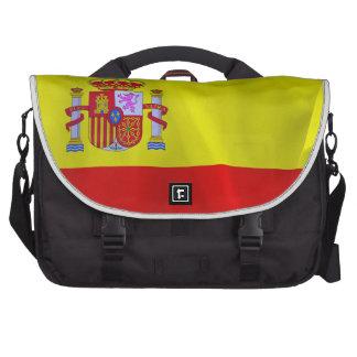 Spain Flag Laptop Messenger Bag