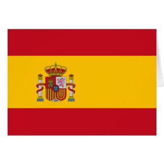 Spain Flag Note Card