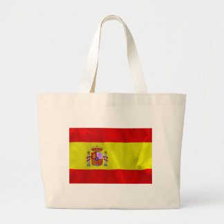 Spain Flag Jumbo Tote Bag
