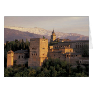 Spain, Granada, Andalucia The Alhambra, Card