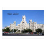 Spain, Madrid City Hall Plaza de Cibeles (St.K) Postcard