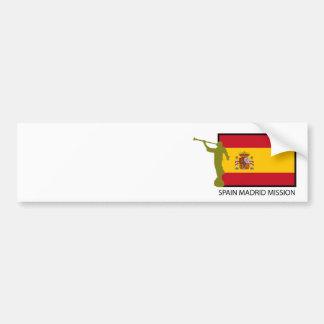 SPAIN MADRID MISSION LDS CTR BUMPER STICKER