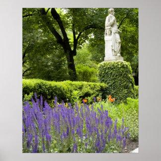 Spain, Madrid. Royal Botanic Garden aka Real Poster