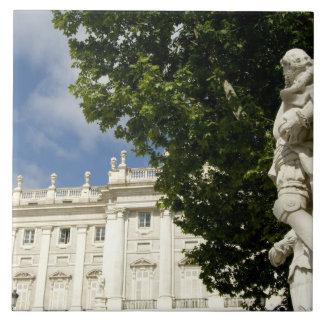 Spain, Madrid. Royal Palace. Large Square Tile