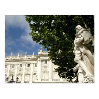 Spain, Madrid. Royal Palace. Postcard