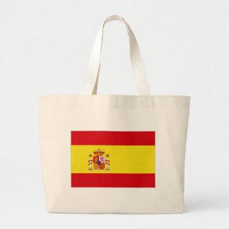 Spain National Flag simplified Jumbo Tote Bag