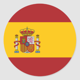 Spain National Flag Sticker