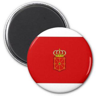 Spain Navarre Flag Magnet