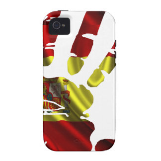 SPAIN NICE FLAG HAND PRODUCTS iPhone 4 CASE