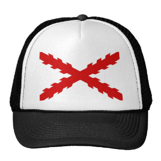 spain old flag new spanish indies conquistador mesh hats