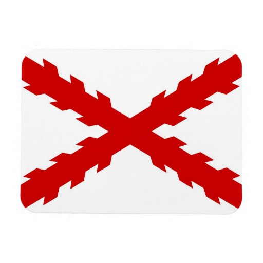 spain old flag new spanish indies conquistador flexible magnets
